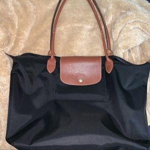 longchamp le pliage tote bag (: